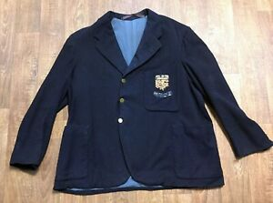 Homme 1930 S Original Vintage Sports Club Blazer Uk Taille M-afficher Le Titre D'origine