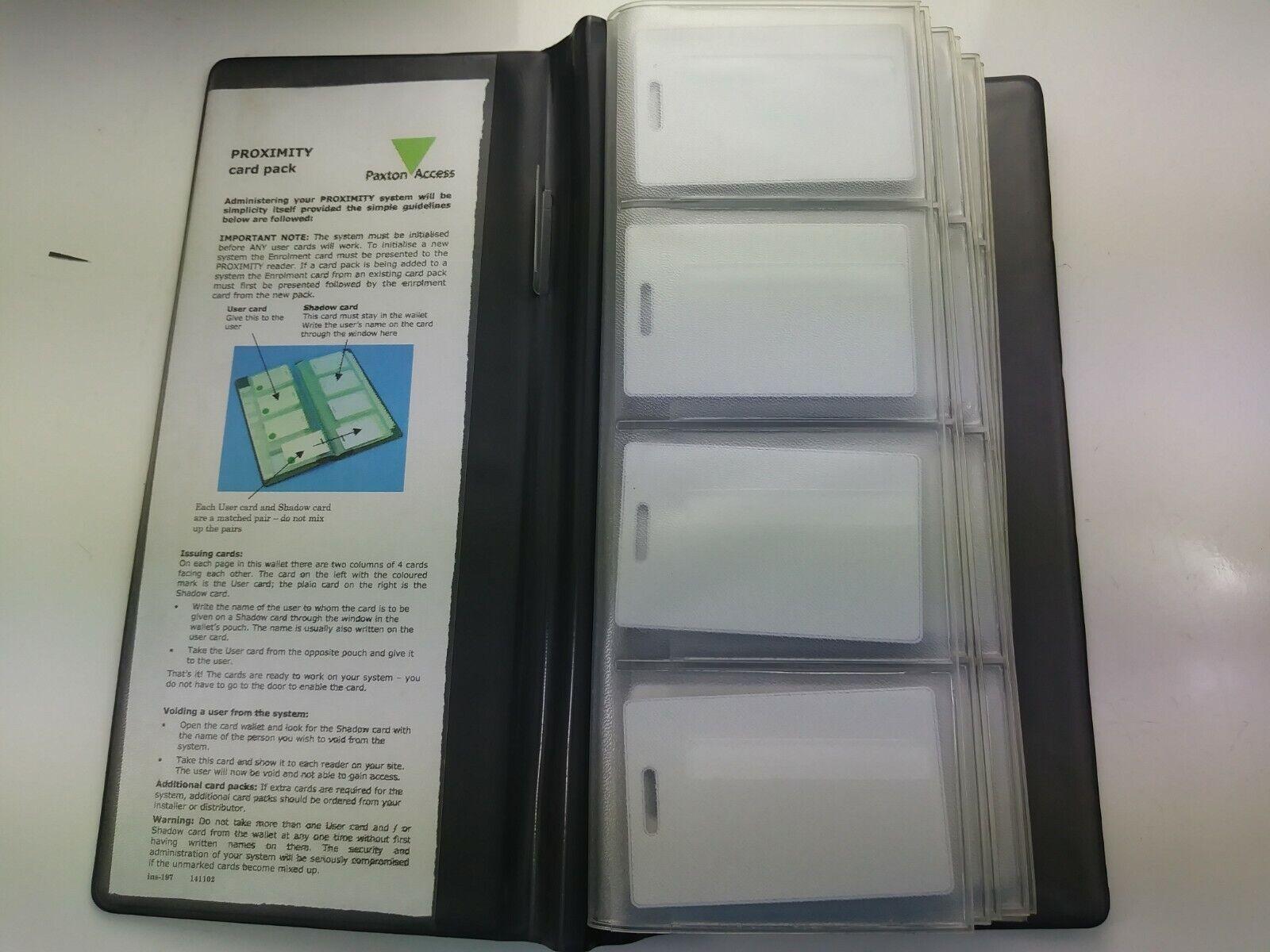 Paquete De Tarjeta De Proximidad Paxton Interruptor 2 50-verde ISO