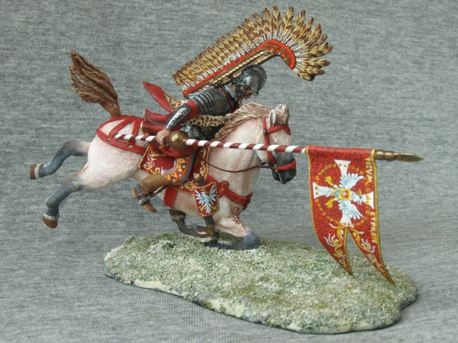 SALE  EXCLUSIVE    Shcherbakov-HQModels  The fall of the Polish hussars. 54 mm