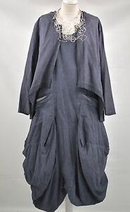 D'CELLI LAGENLOOK parachute dress & JACKET SIZE. XL/XXL NAVY