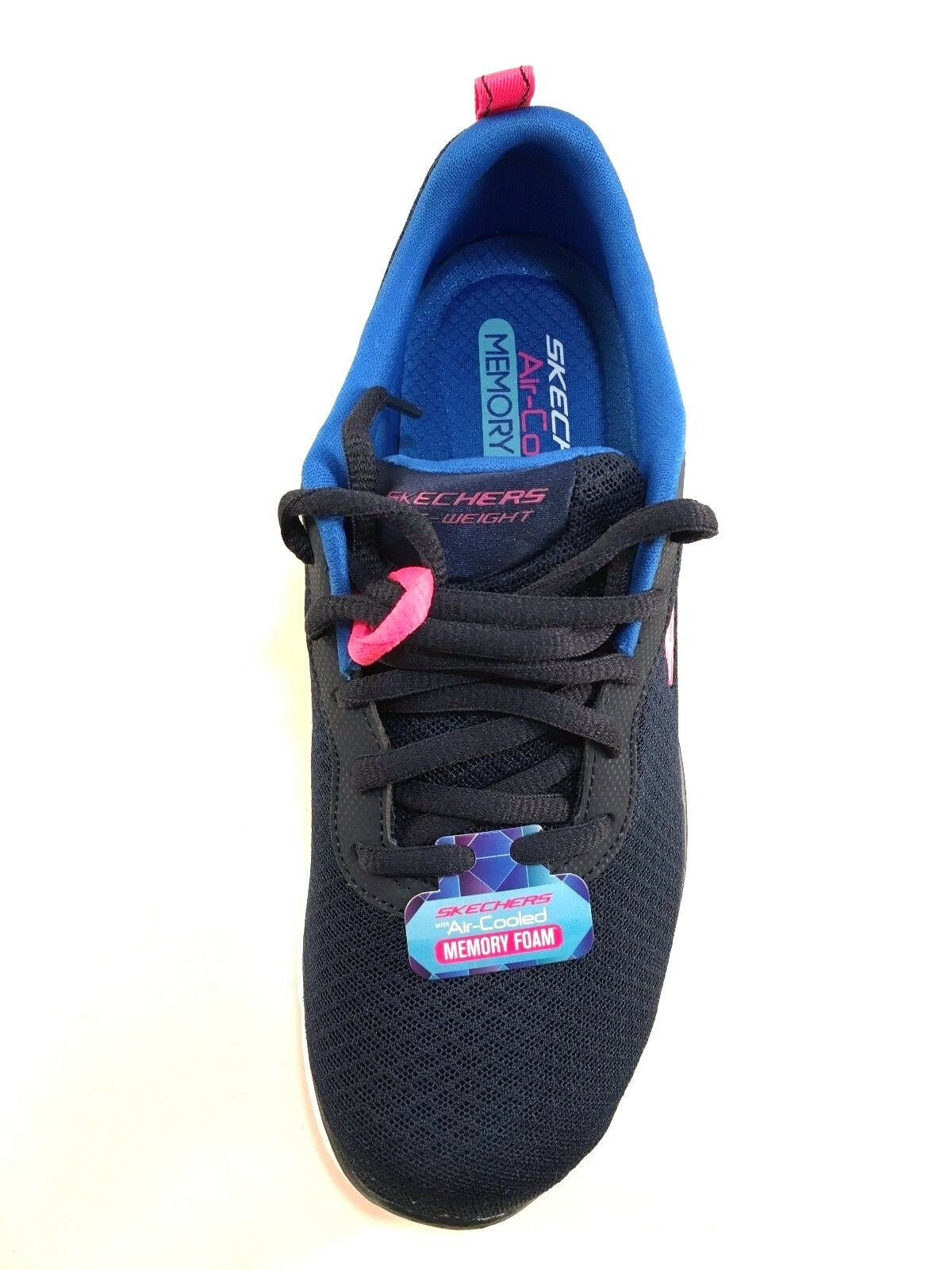 Skechers 12775 Air Cooled Memory Memory Memory Foam Mesh Lace Up Sneakers Choose Sz color 80d8bb