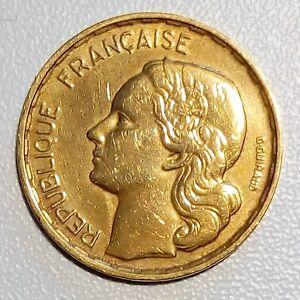 0033F- 20 Francs type G. Guiraud 1952, Queue à 4 plumes. - France - Valeur faciale: 20 Francs Métal: Bronze-Alu Personnage: G.GUIRAUD Qualité: SUP - France