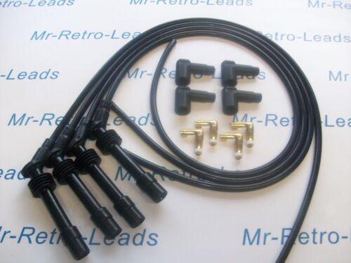Noir 8 mm Performance Ignition Lead Kit C20XE 2.0 ASTRA CAVALIER Course Qualité