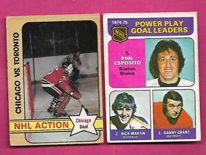 1970S-OPC-BRUINS-PHIL-ESPOSITO-HAWKS-TONY-ESPOSITO-CARD-INV-A8240