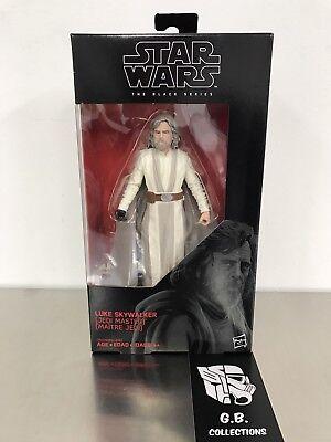 """Star Wars Last Jedi Black Series 6/"""" Luke Skywalker #46 MIB In hand"""