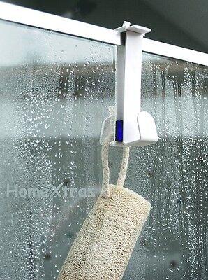 Adjustable Hook - For Shower Screen - Door - Double Hook Storage Solution