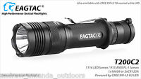 Eagletac T200c2 Xm-l2 Led Flashlight - 1116 Lumens Weapon Kit W/mount & Remote