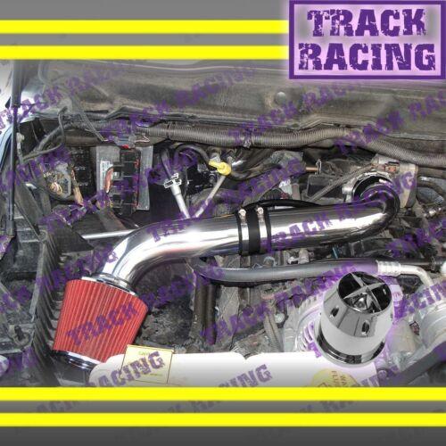 2003-2008 DODGE RAM 1500//2500//3500 5.7L HEMI AIR INTAKE KIT+CHF Black Red Type S