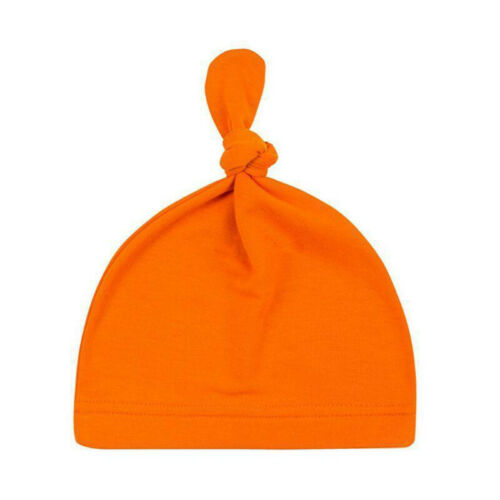 Newborn Baby Toddler Kids Knot Cotton Casual Sleep Hat Cute Beanie Cap Headwrap