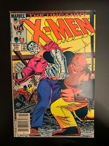 The uncanny x men comic book