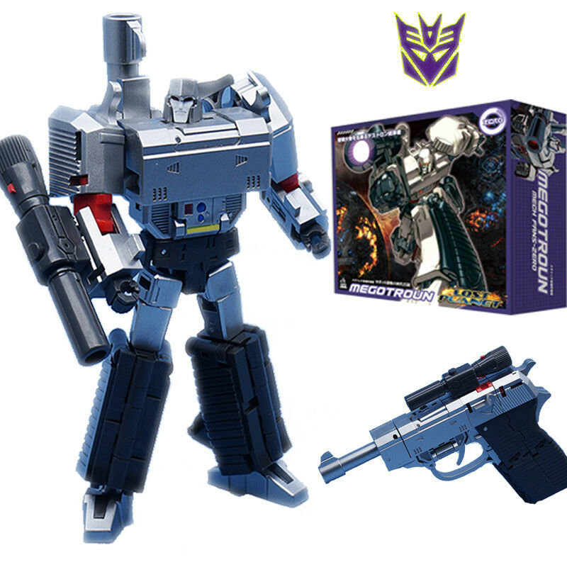 4.5 4.5 4.5  TRANSFORMERS G1 MP-36 DESTRON LEADER MEGATRON FIGURE ACTION TOY NEW IN BOX 9223bb