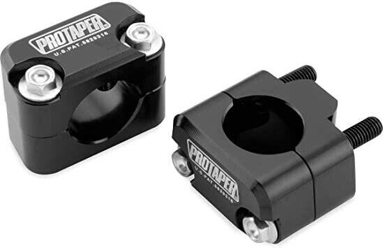"""ProTaper Universal Solid Handlebar Mount Kit   1 1/8"""" Bars   Black   022821"""