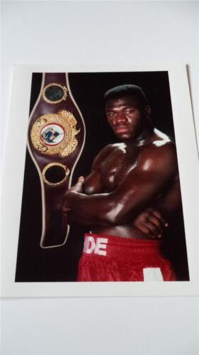 BRITISH BOXING LEGEND HERBIE HIDE WBO WORLD HEAVYWEIGHT CHAMPION PRESS PHOTO ? 4