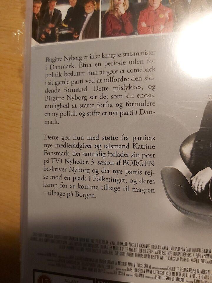 Borgen sæson 3, DVD, drama