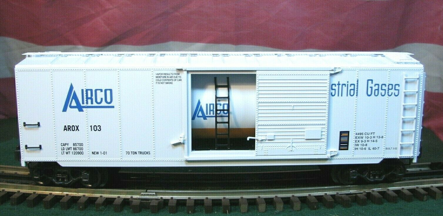 K-line K761-8013 RARE Airco O Scale Tank voiture Inside of an O Scale Boxcar MINT
