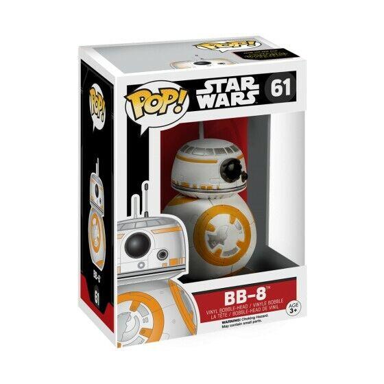 Funko Pop! Star Wars 61 Episode 7 BB-8 Pop Vinyl Action Figure Bobble Head