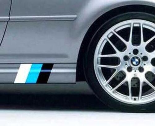 SIDESKIRTS BMW MOTORSPORTS Decal Sticker E92 E36 E46 M M5 M6 E36 E39 E46 E92 330