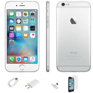 APPLE-IPHONE-6-16-GB-NIVEAU-B-BLANC-SILVER-ORIGINAL-REGENERE-REMIS-A-NEUF
