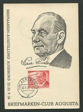 BERLIN MK 1956 156 LINCKE MUSIK KOMPONIST COMPOSER MAXIMUM CARD MC CM h0282