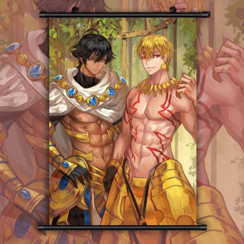 Fate zero stay night grand Hetalia Anime Wall Poster Scroll Room Decor