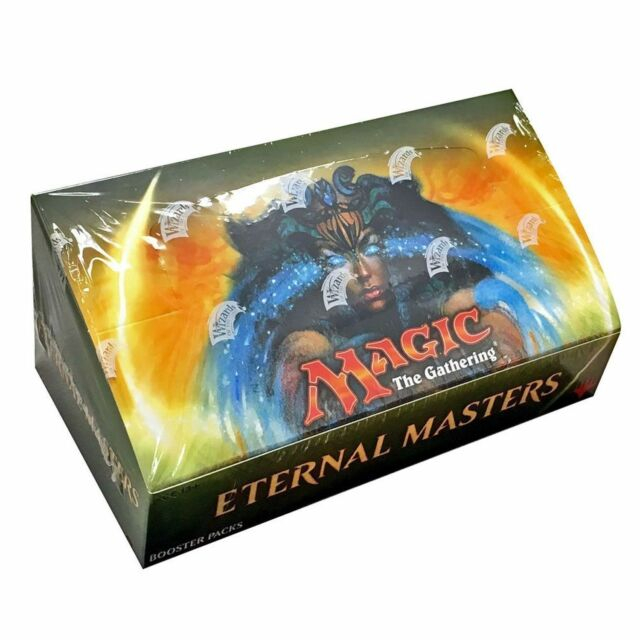 Magic The Gathering MtG Eternal Masters Booster Box Factory Sealed Free Shipping