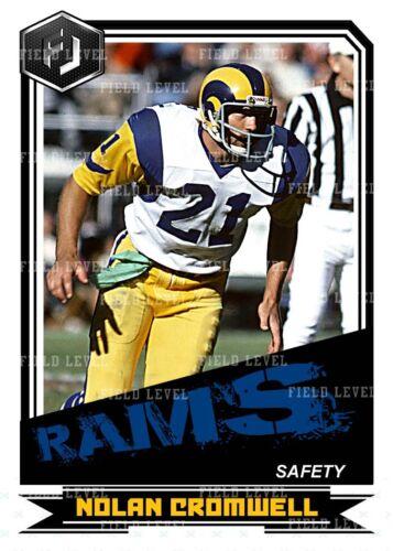 ACEO NOLAN CROMWELL LOS ANGELES RAMS CUSTOM HAND MADE ART CARD