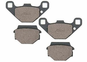 Front & Rear Brake Pads For KAWASAKI BJ250 BJ 250 1995 1996 1997 1998 1999