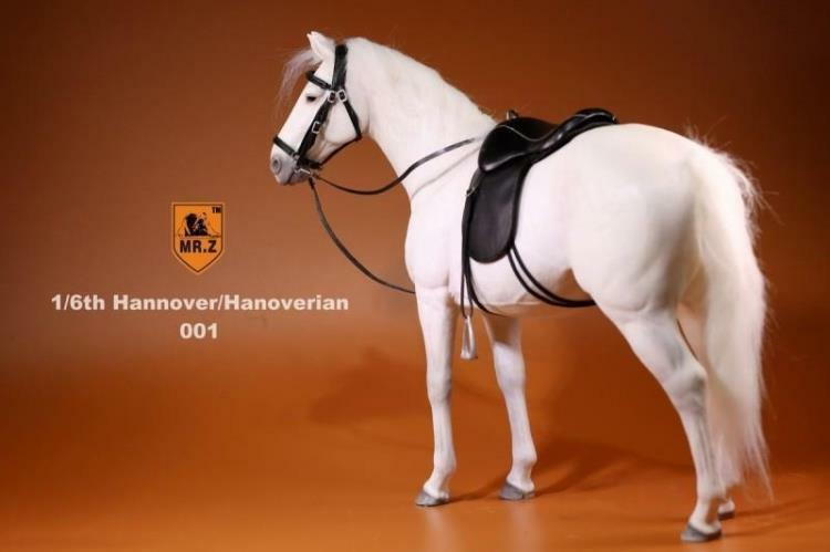 M. Z HANNOVER ALLEMAGNE 001 Blanc Cheval Hanovrien collection F 12  Action Figure