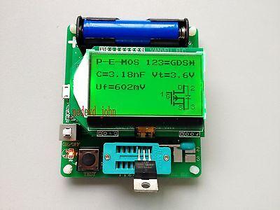 2015 newest version of inductor-capacitor ESR meter DIY MG328 multifunction test