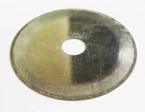 "Gemstone cutting diamond saw blades 100 x 0.2 x 3//4/"" Intercon Germany"