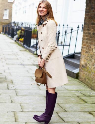 NEW RRP £119 Vanilla BODEN Military Moleskin Coat UK Size 8R UK 8 REGULAR