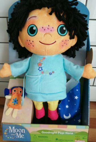 Lune et moi-Goodnight Pepi Nana Talking Soft Toy-CBeebies playskool