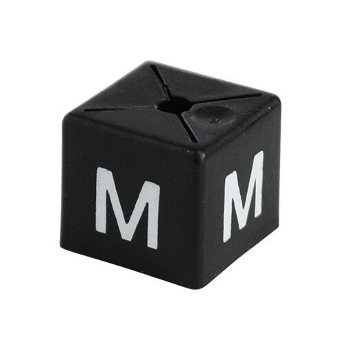 BRAND NEW GARMENT CLOTHES MARKER SIZE CUBES PACK OF 50