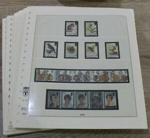 Lindner T Vordrucke Großbritannien 1998-2005  - Vordruckseiten / Vordruckalbum