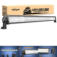 Led Light Bar Nilight 42inch 240w Spot Flood Combo Led Driving Lamp Off Road
