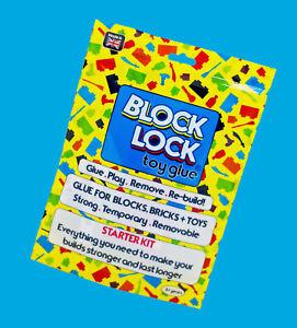 GLUE for LEGO SET Megabloks Kinex Nanoblocks Starwars Creator Marvel Fortnite