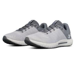 boca Millas aquí  Under Armour Mujer Micro G Pursuit Running Zapatos Zapatillas Sneakers Gris  Blanco | eBay