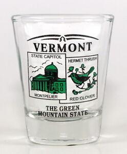 Vermont État Paysage Vert Neuf Verre à Shot Fs20TfXk-09152709-845310990
