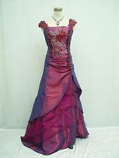 Cherlone Übergröße Lila Ballkleid Brautkleid Abendkleid Brautjungfer Kleid 52
