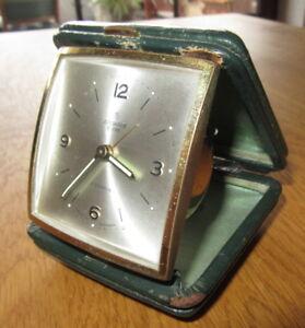 Reisewecker-Junghans-BIVOX-7-Jewels-Vintage-Messing-ca-60er-70erJahre