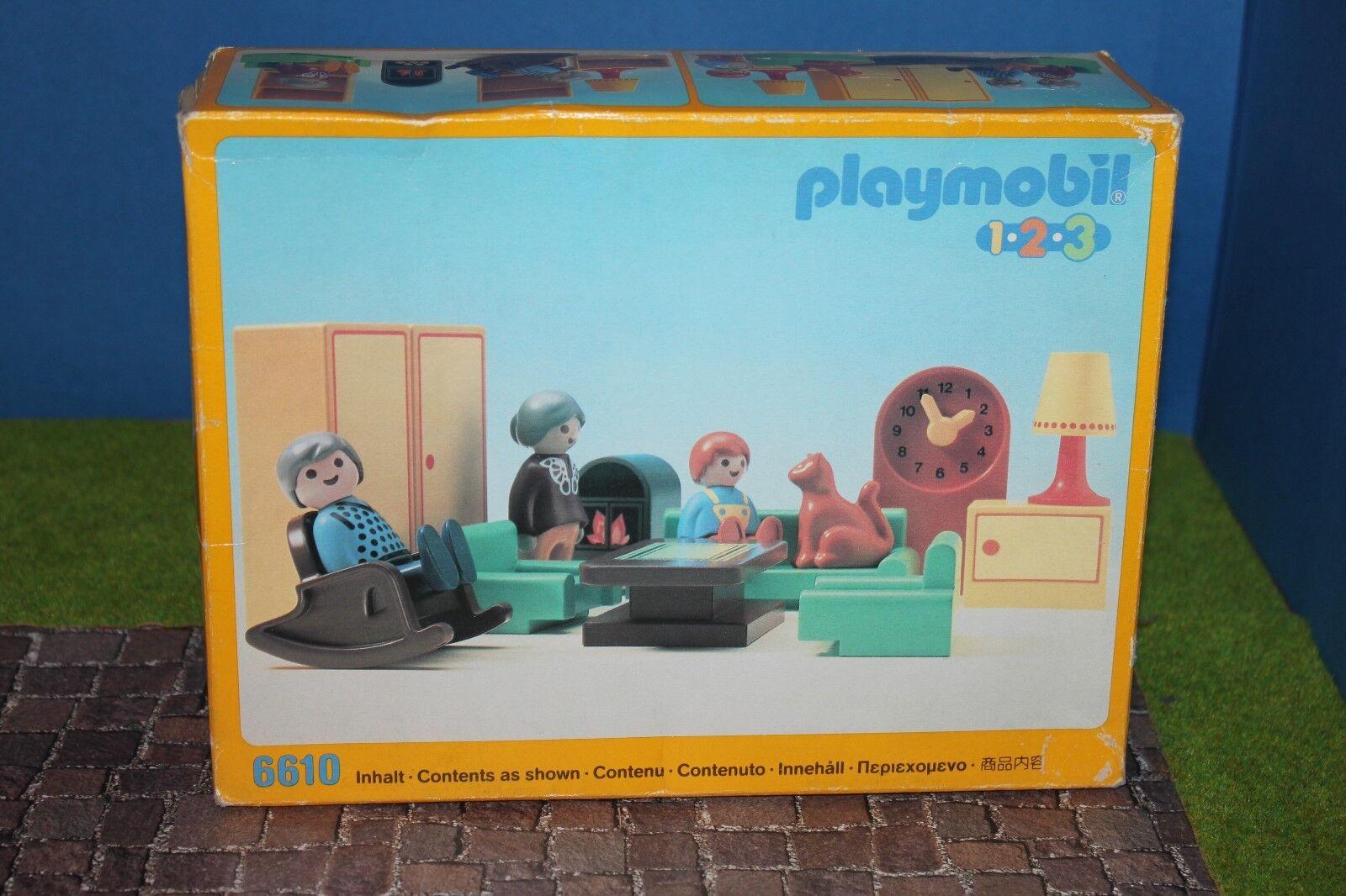 Playmobil 6601 Salotto Misb Nuovo / Conf. Orig. Raro