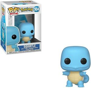Funko-Pop-Games-Pokemon-Squirtle-Brand-New-In-Box