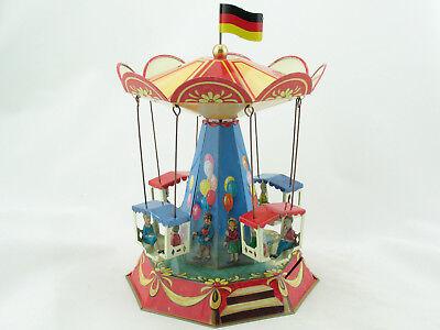 Pferdekarussell Nostalgie Blechspielzeug made in Germany  1320610