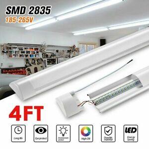 4FT LED Batten Tube Light For Garage Workshop Ceiling Panel  Dimmable White UK