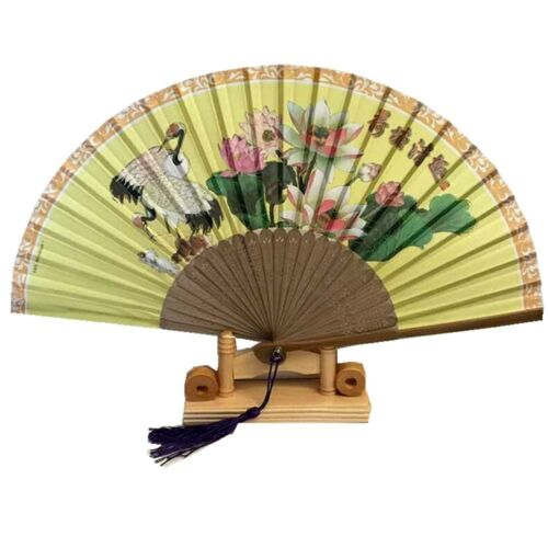 Neu Chinesisch Japanisch Oriental Elegant Sandelholz Holz Hohl Handfächer Fan9