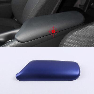 For Peugeot 2008 2014-2017 ABS Chrome Armrest Box Cover Decorative Trim 1pcs