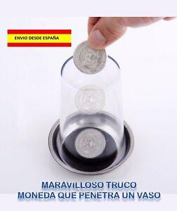 TRUCO-MAGIA-ILUSIONISMO-MONEDA-QUE-PENETRA-UN-VASO-VER-VIDEO-EN-LA-DESCRIPCION