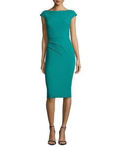 La-Petite-Robe-di-Chiara-Boni-Sheath-Cocktail-Dress-Day-Evening-Green-10-46-new