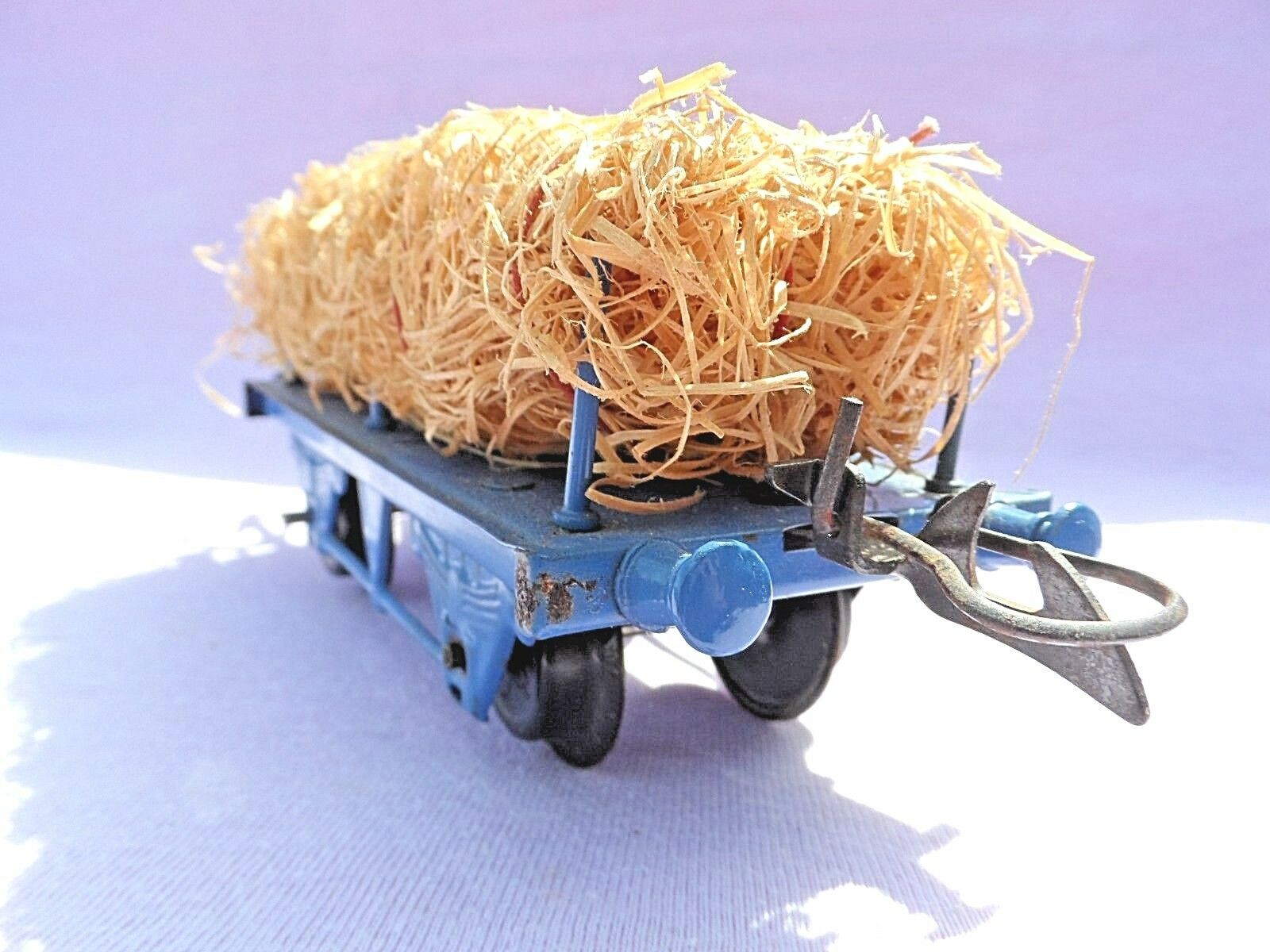BOXED VINTAGE O GAUGE HORNBY HORNBY HORNBY SERIES RS693 FIBRE WAGON & LOAD EXCELLENT CONDITI 1 923483