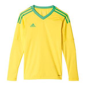 La imagen se está cargando Adidas-Revigo-17-Camiseta-Portero-Ninos-Verde -Amarillo 6eb6c8d8814ba